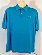 Vtg Isuzu Swingster Brand Collard Polo Golf Spellout Shirt Mens Xl Made in Usa