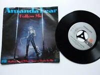 """Vinyl Single 7"""" / Amanda Lear - Follow Me"""