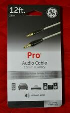 12 ft. Pro Audio Auxillary Cable 3.5mm - GE - Discount on Multiple