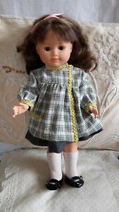 vêtement pour poupée Françoise Modes et Travaux. Tablier blouse 1956