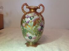 Wonderful! Royal Hinode Nippon Hand Painted Heavily Gold Trimmed Vase