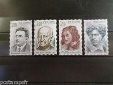 FRANCE 1977, SERIE timbres 1953/1956, CELEBRITES neufs**, CELEBRITY, MNH