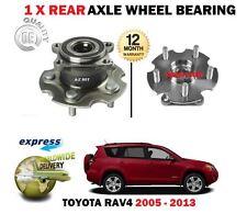 für Toyota RAV4 2.0 VVti 2.2 D4D+4x4 2005 > NEU 1 x hinten Achse Radlager