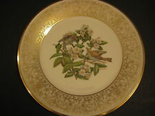 Lenox Presents Annual L/E Boehm Birds 1970 Wood Thrush Official Bird Plate