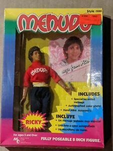 "1983 Ricky Melendez MENUDO 7.5"" Action Figure Doll MIB Multi Toys 80s"