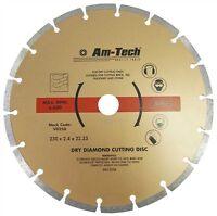 "9"" Diamond Cutting Disc Grinder Cutter Blade Masonary & Hard Brick Stone 230mm"