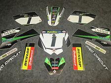 KTM SX50 2002-2008 Kit de Gráfico de equipo Roble Motorsports Completo KT4968