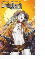 Lady Death Warrior Temptress #1 Quick Draw variant! FREE SHIPPING AVAILABLE!