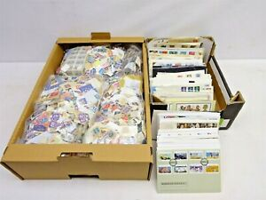 GB UK Off Paper Randomly Picked 500 pcs Stamps Collection Lot Great Britain