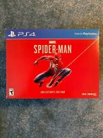 Marvel's Spider-Man Collector's Edition GAME for Sony PS4 BRAND NEW *NO CONSOLE*