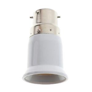 1x ADAPTATEUR DOUILLE E27 E14 AMPOULE CULOT LAMPE baionnette vers gros culot vis