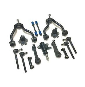 13 New Pc Suspension Kit for Chevrolet GMC Control Arms Ball Joints Tie Rod Ends