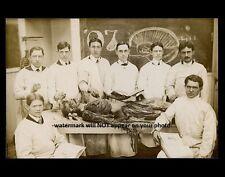Vintage Autopsy PHOTO Creepy Scary Weird Skeleton Body Dead Spooky Doctors