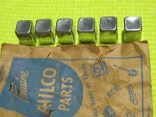 NOS Philco Radio button set, 1946-1950 Mopar,Pontiac, chrome