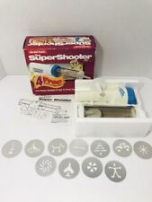 THE SUPER SHOOTER Cordless Cookie Press Complete NEW Open Box Model 80040