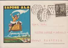 Pubblicitaria sapone Ala Genova Cornigliano  splendida e Viaggiata
