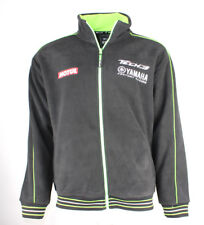 New Official Tech 3 Yamaha Team Fleece (MOTUL) BLACK Size Medium / M