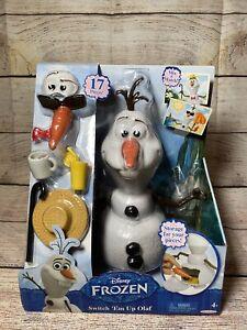 Disney Frozen Switch Em Up Olaf Snowman 17 Piece Set Potato Head Style NIB