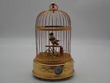 Reuge Music Sainte Croix Cage Automate Musical Pendulette automate