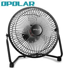 OPOLAR 9 inch Quiet USB Fan Personal Cooling Desk Fan Strong Airflow Metal Frame