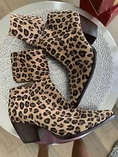 Matisse Good Company Boots in Leopard - Size 10 M