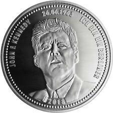 Kennedy * John F. Kennedy * Silbermedaille - Gedenkprägung * NEU *