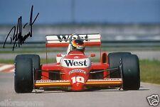 """F1 Driver Formula One Bernd Schneider Hand Signed Photo Autograph 12x8"""" AE"""