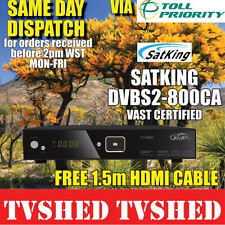 Satking DVBS2-800CA VAST Satellite Receiver Decoder FREE PRIORITY SHIPPING