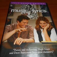 Music and Lyrics (DVD, Full Screen 2007) Drew Barrymore Hugh Grant Used
