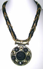 Rhinestone Glass Bronze Fashion Necklaces & Pendants