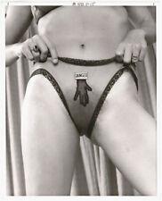 "Original vintage 1970s nude ""Danger"", risque underwear"