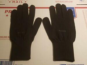 NEW! Nikken ThermoWear Ceramic Fiber Gloves Black Size Medium M Far Infrared