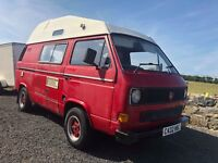 VW T25 Volkswagen Camper van,no mot,ideal project,spares or repairs