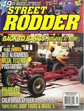 STREET RODDER 1998 MAY - BEAD FORMING, FRONT-END BASICS, HOW TO PIN STRIP