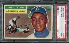 1956 Topps #280 Jim Gilliam PSA 9