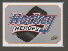 (69687) 2008-09 UPPER DECK HOCKEY HEROES SIDNEY CROSBY SET - #HHSC + #HH1-8