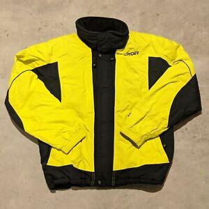 Spyder Mens XL Yellow Entrant GII Ski Snowboarding Coat Jacket XT 5,000 Full Zip