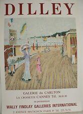 """Très Rare Affiche de Ramon DILLEY    """"  LA BELLE EPOQUE  """""""