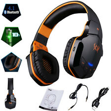 Gaming Headset Stereo Bluetooth Wireless Headphones for Xbox One/360 PS4 PC U2R7