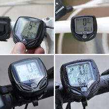 LCD sans fil numérique vélo Compteur de vitesse Odomètre Compteur Auto Ordinateur version