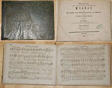 Carl Abela Sammlung zwei-, drei- und vierstimmiger Lieder 1857 Musik Gesang xx