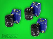 x 3 sm108 Filtro de aceite VW LT 28-35 40-55 2,4 TRANSPORTER T3 1,6 D TD PASSAT