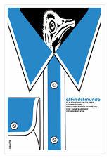 Cuban decor Graphic Design movie Poster 4 Soviet film.AUSTRALIA Ostrich art