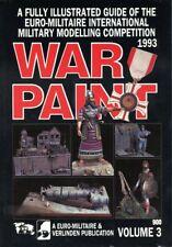 Verlinden Publications War Paint Euro Militaire Vol.3 1993 Reference Book #900