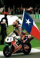 Colin EDWARDS SIGNED Photo Autograph AFTAL COA Honda WSB Champion Texas Tornado