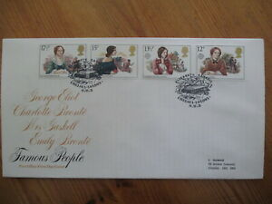 1980 FAMOUS PEOPLE GPO FIRST DAY COVER, ELIZABETH GASKELL, CHELSEA, SW1 H/S