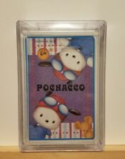 Brand New Sealed ~ Pochacco Sanrio Playing Cards (1999, with Hard Clear Case)