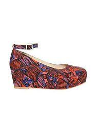 Women's Geometric Wedge Heels