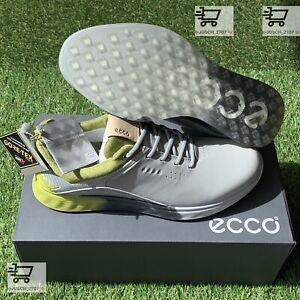 ECCO S-Three S3 Gore Tex GTX Gray Green Golf Shoe Sneaker ⛳️ EU 44 US 10 .5