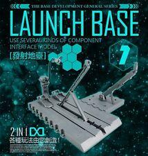 Dragon Momoko commom Launch Base for Bandai MG 1/100 HG 1/144 Gundam New